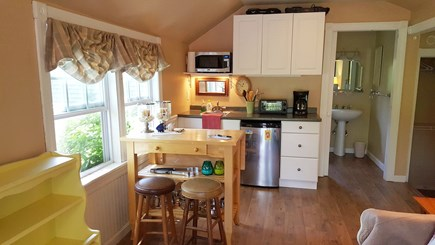 Yarmouth Port Cape Cod vacation rental - Clean and bright efficiency kitchenette