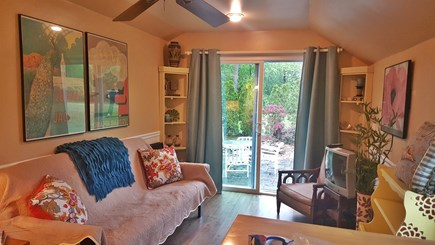 Yarmouth Port Cape Cod vacation rental - Cozy LR... picture does not reflect new 32 inch flat screen TV