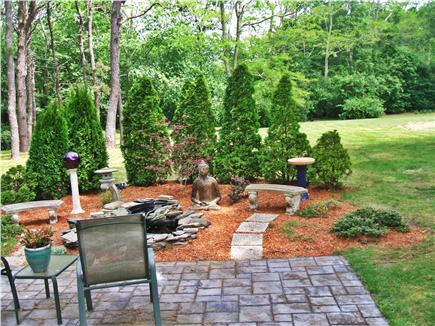 Yarmouth Port Cape Cod vacation rental - Enjoy the tranquil patio with gold fish and Zen garden