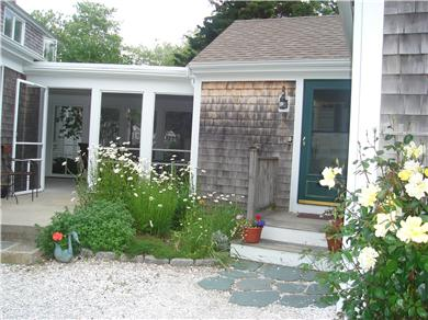East Orleans Cape Cod vacation rental - This is the entrance  to the cottage and porch