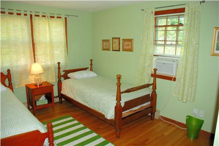 Harwich Cape Cod vacation rental - Green bedroom