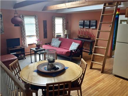 Provincetown Cape Cod vacation rental - Living/Dining/Kitchen