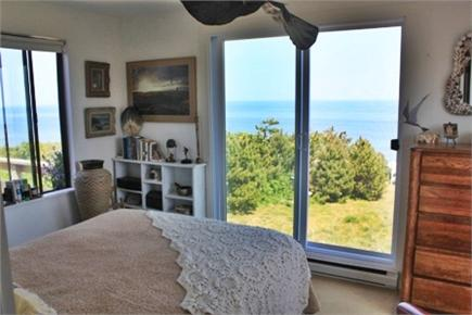 Eastham Cape Cod vacation rental - Upstairs bedroom surrounded by glass