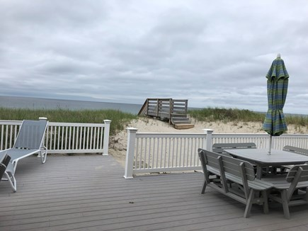 East Sandwich Beach  Cape Cod vacation rental - Paradise for sure, deck leads to beach
