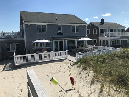 East Sandwich Beach  Cape Cod vacation rental - House view from the dune