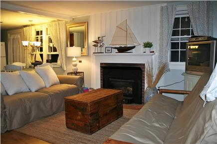 Brewster Historic District Cape Cod vacation rental - Living Room