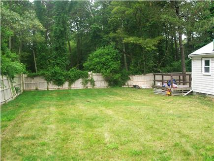 South Yarmouth Cape Cod vacation rental - Back yard