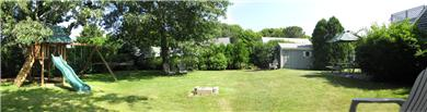 Falmouth - Maravista Cape Cod vacation rental - Large private back yard for children and entertaining