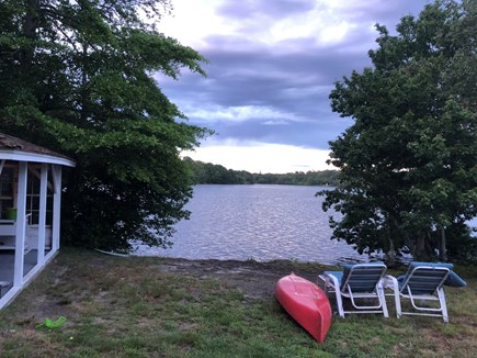 Dennis Village, Scargo Lake Cape Cod vacation rental - Kayak, sail, fish or swim in clear waters of a glacial lake
