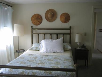 Falmouth Cape Cod vacation rental - Bedroom. full bed with woodland views