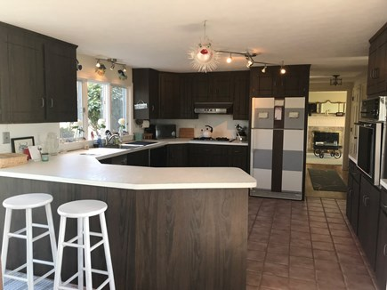 Falmouth Cape Cod vacation rental - Kitchen with gas stove top