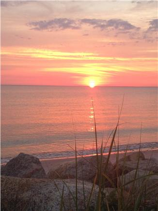 Falmouth Cape Cod vacation rental - Beautiful sunsets to enjoy whlie sitting on porch