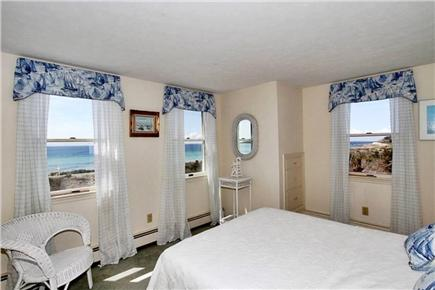 Falmouth Cape Cod vacation rental - Bedroom,queen size bed with ocean views