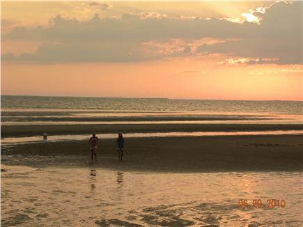 Eastham Cape Cod vacation rental - Sunset at Campground Beach