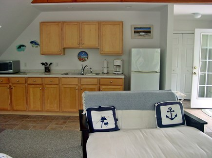 Wellfleet Cape Cod vacation rental - Kitchen with full size refreigerator