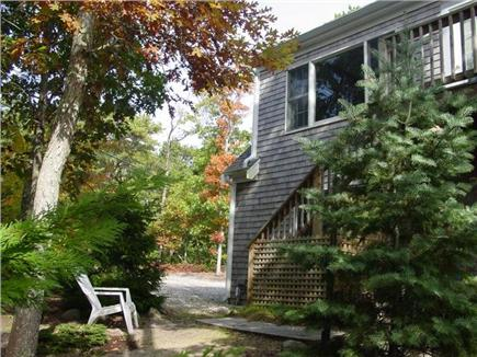 Wellfleet Cape Cod vacation rental - Large window overlooking the yard