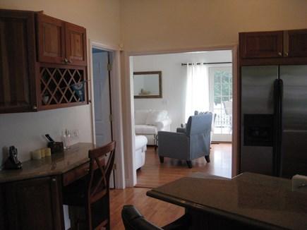 Popponesset Beach Mashpee Cape Cod vacation rental - Kitchen to Living Room