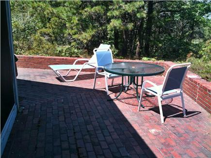 Wellfleet Cape Cod vacation rental - Back Patio
