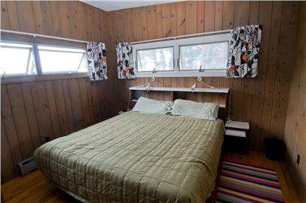 Wellfleet Cape Cod vacation rental - Master Bedroom on main floor