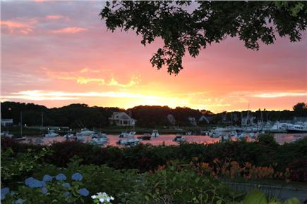 Harwich Port Cape Cod vacation rental - Harbor View from Driveway and back yard and Bedroom #4