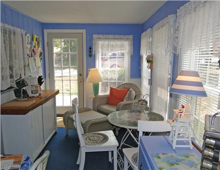 Harwich near restaurants, shop Cape Cod vacation rental - Sun porch, great for breakfast and quiet time