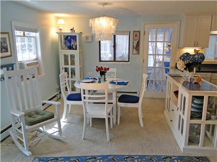 Harwich near restaurants, shop Cape Cod vacation rental - Dining area