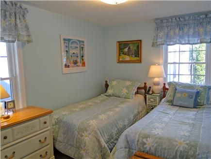 Harwich Cape Cod vacation rental - Twin bedroom on first floor - adjacent to bathroom