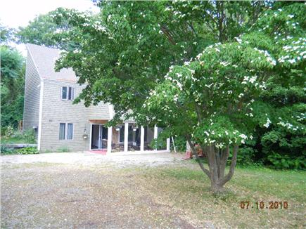 East Sandwich- West Barnstable Cape Cod vacation rental - House is set far off Sandy Neck Road- lots or privacy