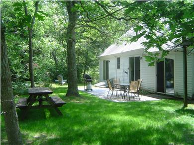 East Harwich Cape Cod vacation rental - Patio