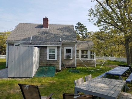 Dennis Port Cape Cod vacation rental - Backyard