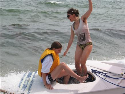 Centerville Centerville vacation rental - Finishing a sail at Craigville Beach