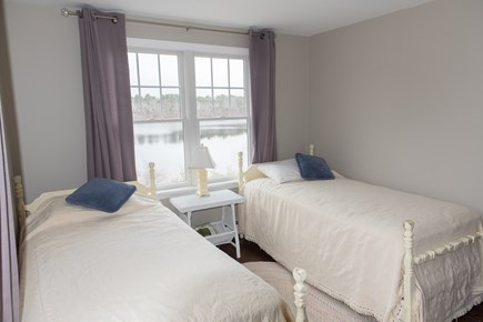 Brewster Cape Cod vacation rental - 2nd floor bedroom with two twin beds and beautiful view!