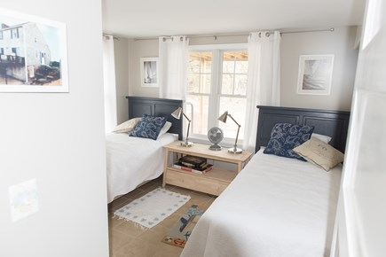 Brewster Cape Cod vacation rental - Downstairs bedroom with two twin beds and its own bathroom