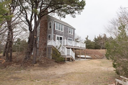 Brewster Cape Cod vacation rental - Enjoy dining al fresco on the deck