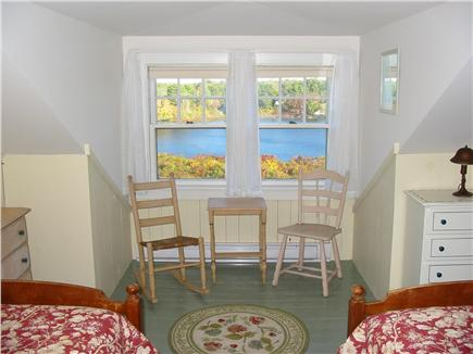 Eastham Cape Cod vacation rental - Upstairs Dormer Bedroom with Twin Beds