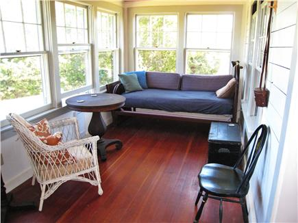 Eastham Cape Cod vacation rental - Large Porch overlooking Jemima Pond
