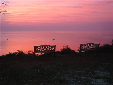 Plymouth, Manomet Bluffs MA vacation rental - Sunrise from the bluff ...