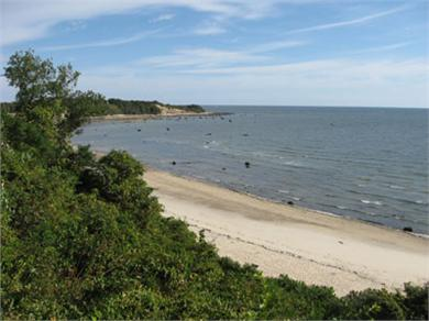 Plymouth, Manomet Bluffs MA vacation rental - The beach just 150 yards away...