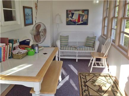West Yarmouth Cape Cod vacation rental - Sunny game/art room and children get away.