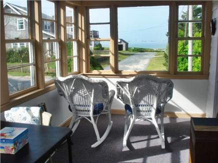 West Yarmouth Cape Cod vacation rental - Have your morning coffee looking at the beach!