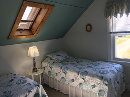 Yarmouth, Hyannis Park neighborhood West Cape Cod vacation rental - Twin beds with water view