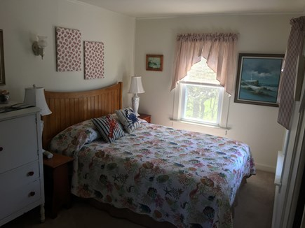 Yarmouth, Hyannis Park neighborhood West Cape Cod vacation rental - Queen bedroom with view of bay!