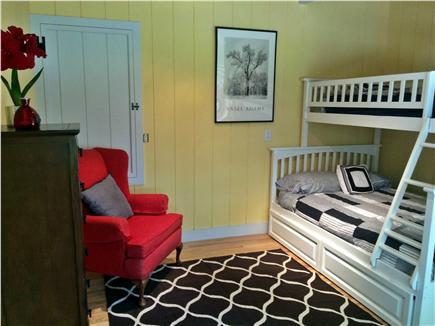 Dennis Cape Cod vacation rental - Bedroom(Full) with twin bunk bed