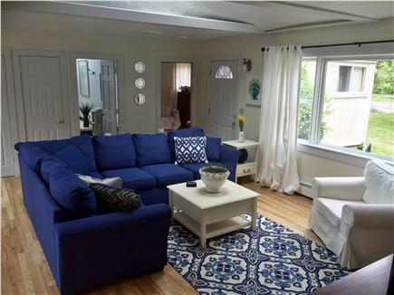 Dennis Cape Cod Vacation Rental   Living Room