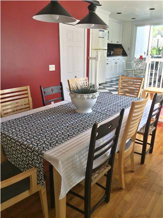 Dennis Cape Cod vacation rental - Dining and Kitchen area