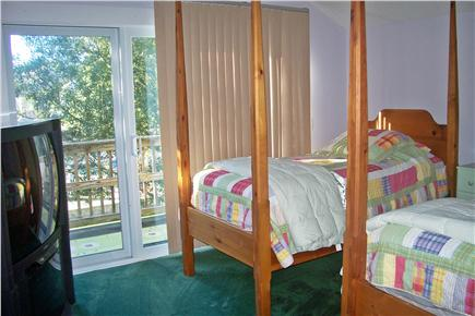 Dennis Cape Cod vacation rental - Bedroom(two twins and pullout areo bed