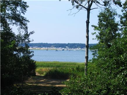 Wellfleet Cape Cod vacation rental - View of Chipman's Cove from the deck