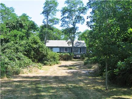 Wellfleet Cape Cod vacation rental - Back yard & house