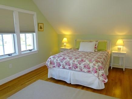 Dennis Port Cape Cod vacation rental - Master bedroom 2nd floor queen size bed, flat screen TV