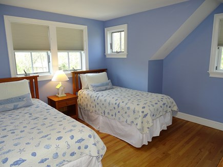 Dennis Port Cape Cod vacation rental - Bedroom 3 upstairs with two twin size beds